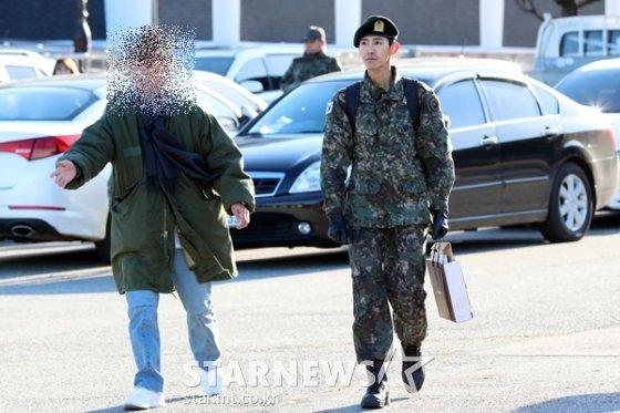 그룹 제국의 아이들 출신 방송인 광희, 광희 매니저 유시종씨 /사진=스타뉴스