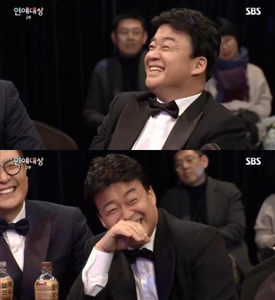 'SBS연예대상' 백종원, 그럼에도 '무관'은 아쉽다[윤성열의 참각막]