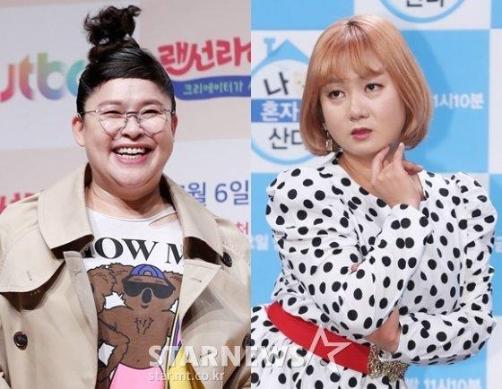 개그우먼 이영자, 박나래 /사진=스타뉴스