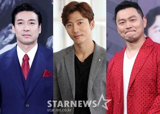 신성우, 기태영, 양동근/사진=스타뉴스