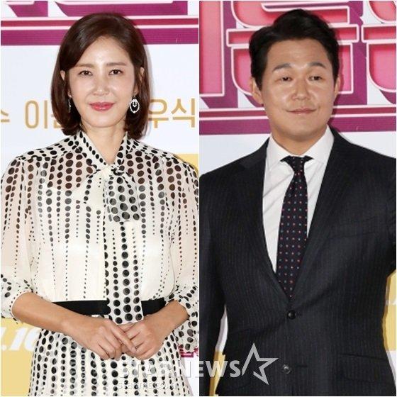 유호정(왼쪽)과 박성웅 /사진=스타뉴스