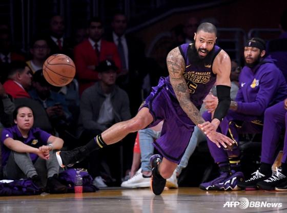 미국프로농구(NBA) LA레이커스의 타이슨 챈들러. / 사진=AFPBBNews=뉴스1