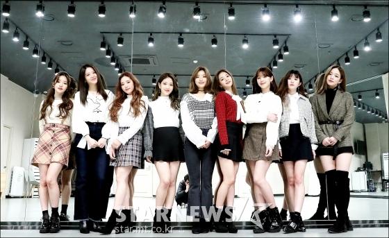 걸그룹 프로미스나인/사진=김창현 기자