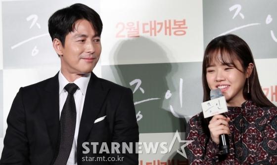 배우 정우성(왼쪽), 김향기 /사진=김휘선 기자