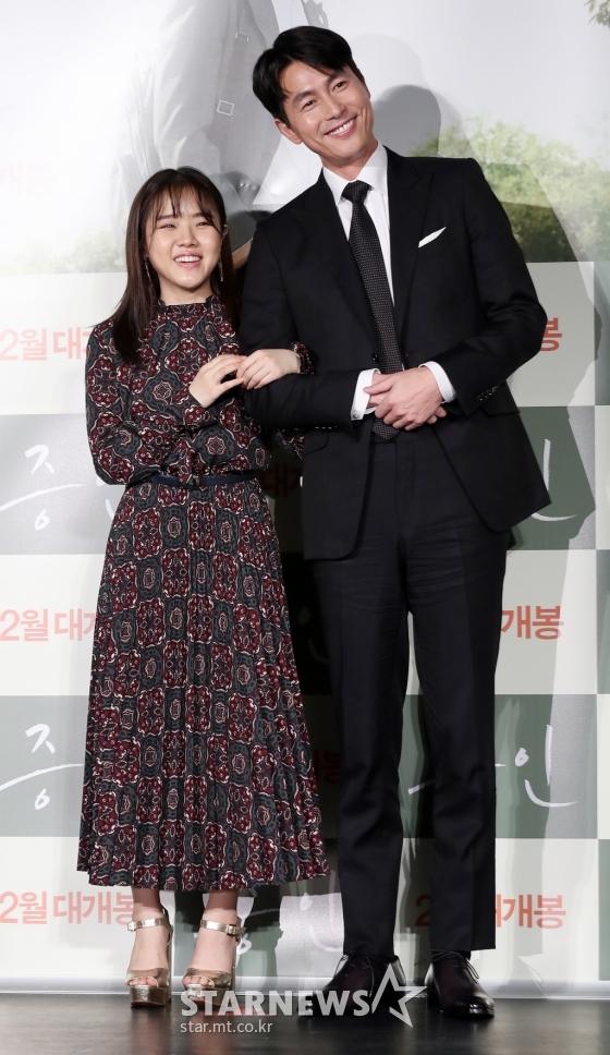배우 김향기(왼쪽), 정우성 /사진=김휘선 기자