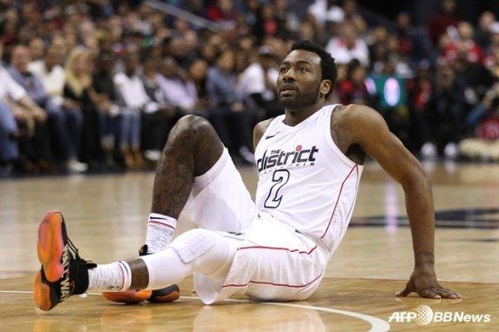 미국프로농구(NBA) 워싱턴 위저즈의 존 월. / 사진=AFPBBNews=뉴스1