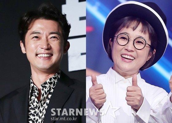 안재욱, 송은이(사진 오른쪽)/사진=스타뉴스