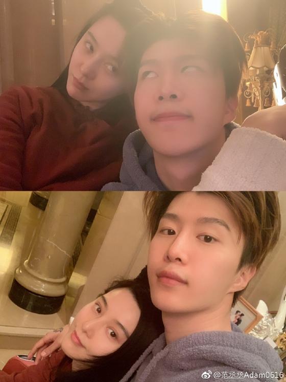 판빙빙(왼쪽), 판청청 /사진=판청청 웨이보