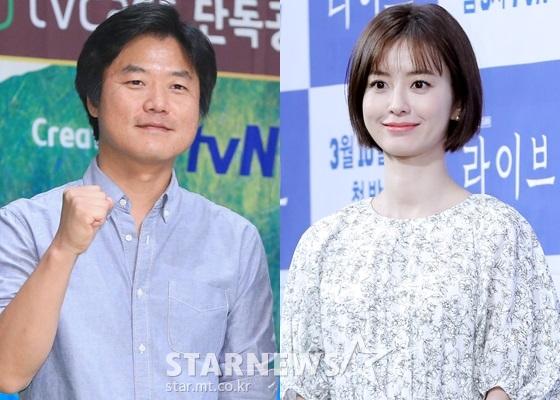 나영석 PD, 배우 정유미(사진 오른쪽)/사진=스타뉴스