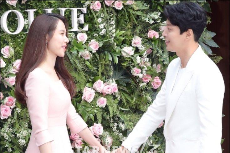 이동건-조윤희, '눈빛만 봐도 행복해'