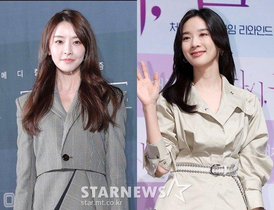 배우 정유미, 이청아 /사진=스타뉴스