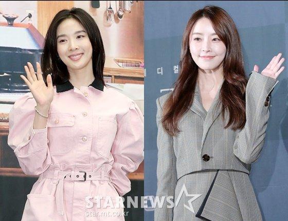 배우 이청아, 정유미 /사진=스타뉴스