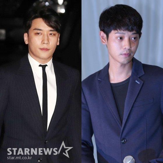 (왼쪽부터) 승리, 정준영 /사진=스타뉴스