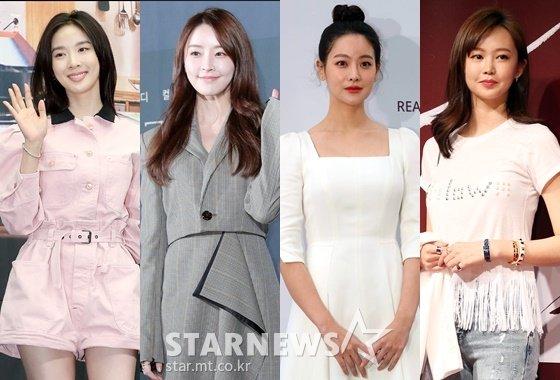배우 이청아, 정유미, 오연서, 오초희 /사진=스타뉴스