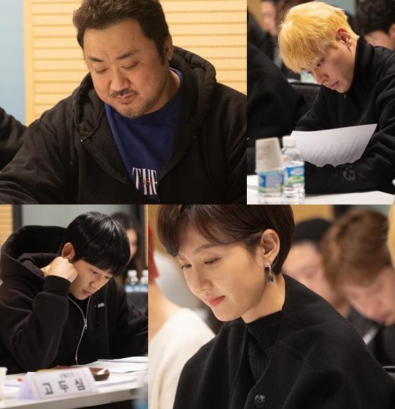 마동석과 박정민, 염정아, 정해인이 영화 '시동'에 출연한다.