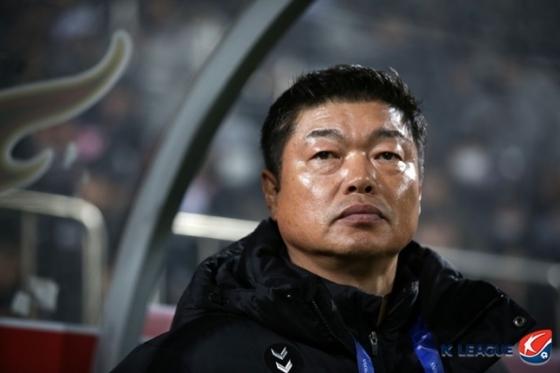 김종부 경남FC 감독./사진=한국프로축구연맹