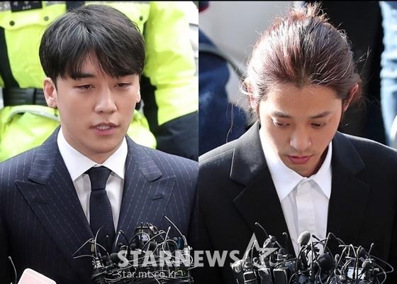 승리(왼쪽), 정준영 /사진=김창현 기자