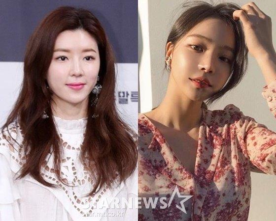 배우 박한별, 쇼핑몰 CEO 지윤미 /사진=스타뉴스, 지윤미 인스타그램