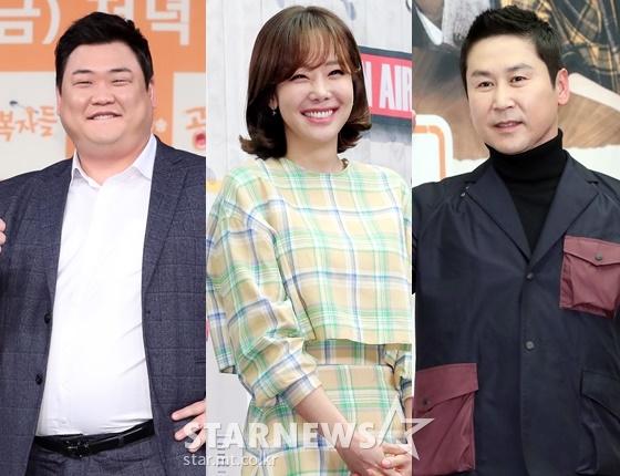 개그맨 김준현, 배우 소유진, 방송인 신동엽 /사진=스타뉴스