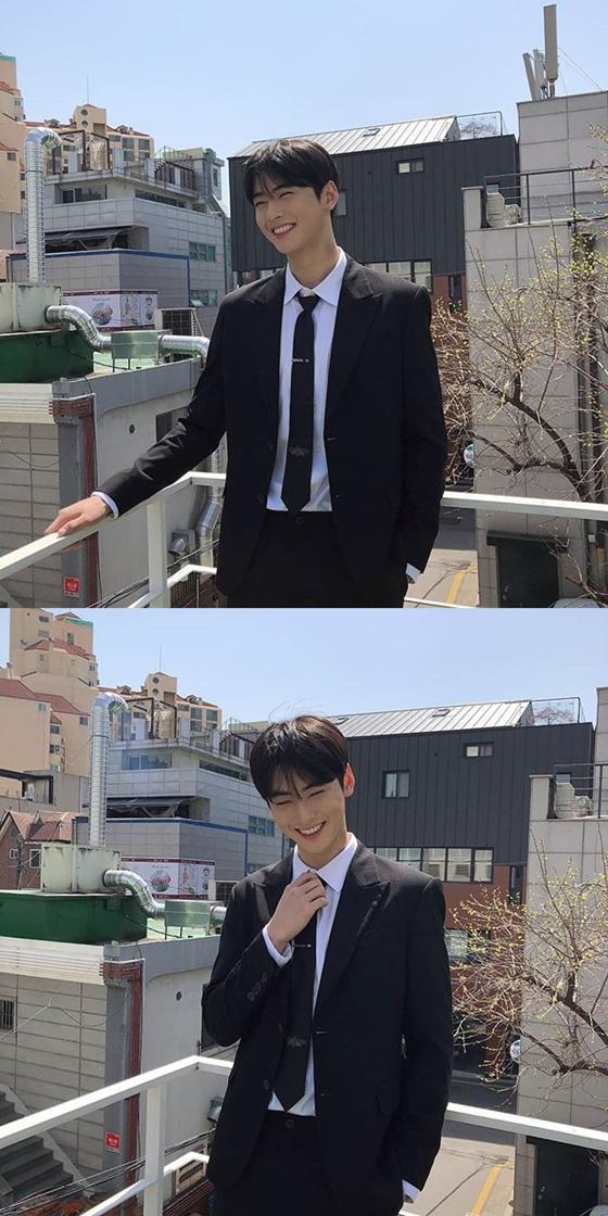 그룹 아스트로 멤버 겸 배우 차은우 /사진=차은우 인스타그램