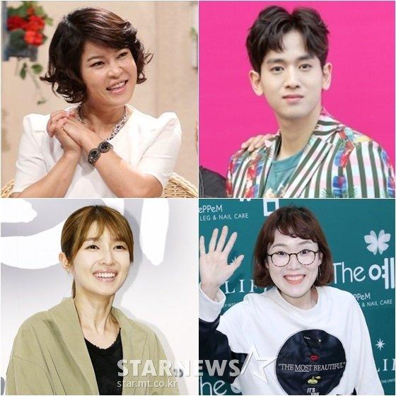 조혜련(왼쪽위부터 시계방향), 류필립, 박슬기, 김경란 /사진=스타뉴스