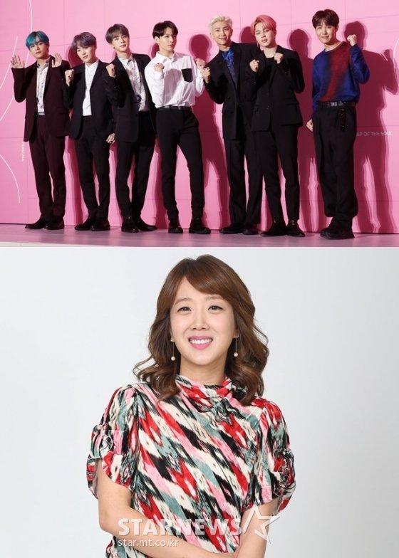그룹 방탄소년단, 방송인 서민정 /사진=스타뉴스