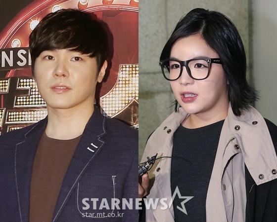가수 휘성, 에이미 /사진=스타뉴스