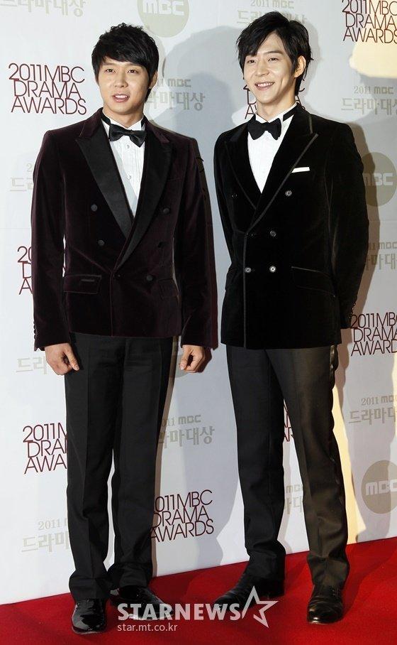 가수 겸 배우 박유천(왼쪽), 박유환 /사진=임성균 기자