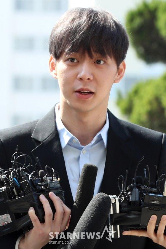 가수 겸 배우 박유천 /사진=이기범 기자