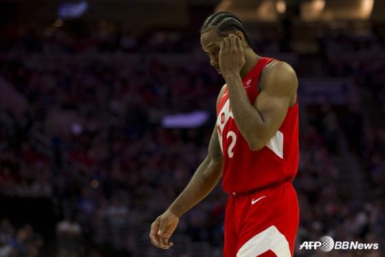 토론토 랩터스의 카와이 레너드. / 사진=AFPBBNews=뉴스1