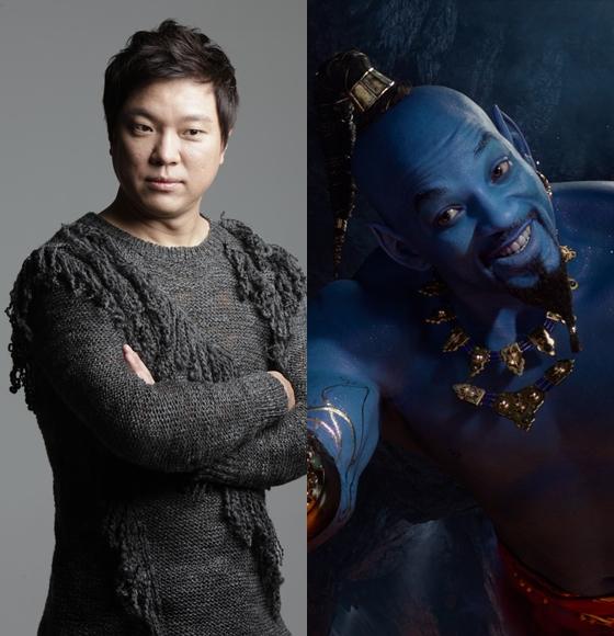 정성화가 영화 '알라딘' 한국 더빙 버전에서 지니 역을 맡는다.