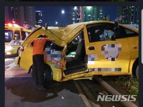 인천 송도에서 사고가 발생했다./사진=뉴시스