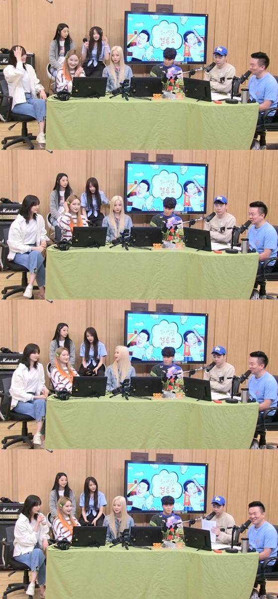 EXID와 양다일, 뮤지, 김태균./사진=SBS 파워FM '두시탈출 컬투쇼' 방송화면 캡처