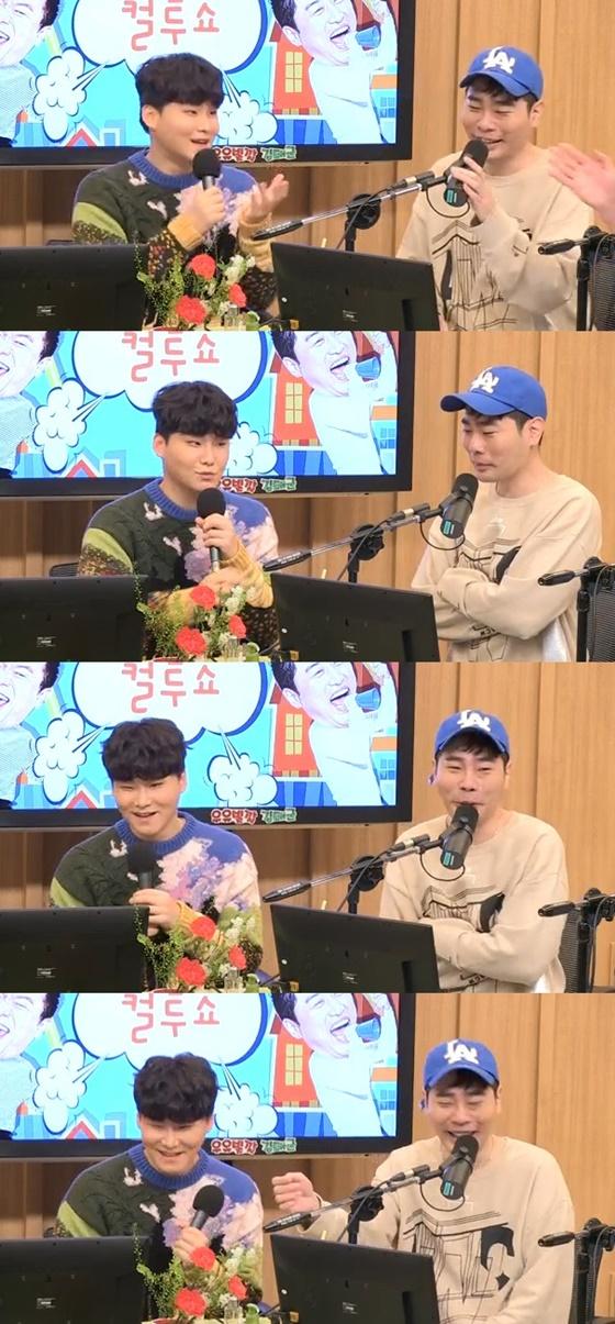 양다일과 뮤지./사진=SBS 파워FM '두시탈출 컬투쇼' 방송화면 캡처