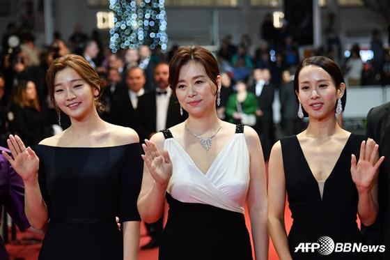 배우 박소담, 장혜진, 조여정(왼쪽부터) /AFPBBNews=뉴스1
