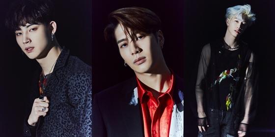 그룹 갓세븐 JB, 잭슨, 마크 /사진제공=JYP엔터테인먼트