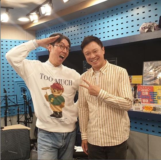 김영철과 정성화./사진=정성화 인스타그램
