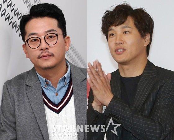 김준호, 차태현/사진=스타뉴스