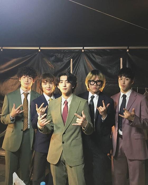 밴드 잔나비 /사진=잔나비 소속사 페포니뮤직 공식 인스타그램