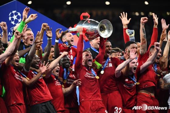 리버풀의 유럽챔피언스리그 우승. / 사진=AFPBBNews=뉴스1