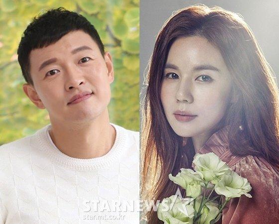 배우 김호진, 박시은 /사진=스타뉴스, 마다엔터테인먼트