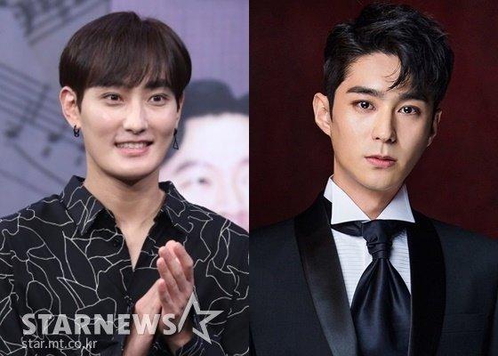 가수 강타(왼쪽), 뮤지컬 배우 전동석 /사진=이기범 기자, 다인엔터테인먼트