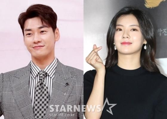 배우 김영광(왼쪽), 이선빈 /사진=김휘선, 이기범 기자