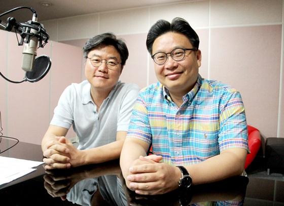 나영석PD(왼쪽)와 서경덕 교수 /사진제공=서경덕 교수 연구팀