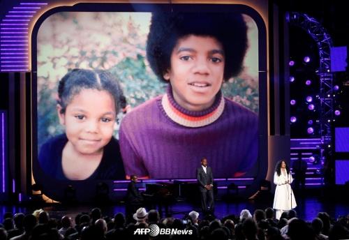 어린 시절의 자넷 잭슨과 마이클 잭슨 /AFPBBNews=뉴스1