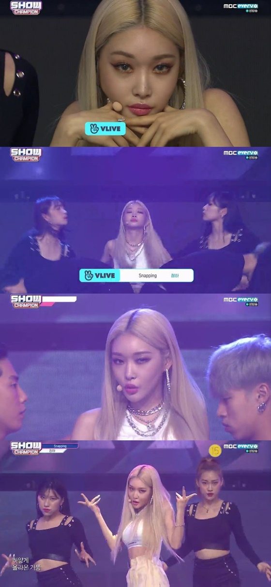 /사진=MBC 뮤직 음악 프로그램 '쇼! 챔피언' 캡처