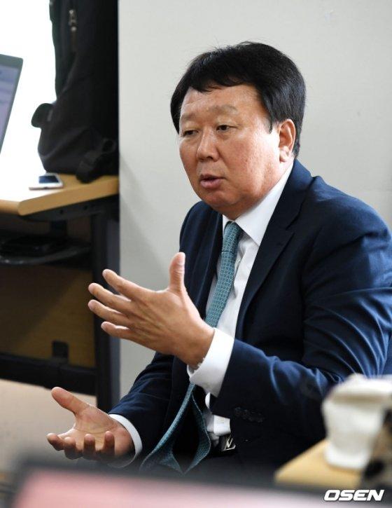 11일 목동야구장을 찾은 선동열 전 대표팀 감독.