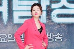 박진희 '강렬한 핫핑크 패션'