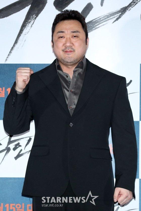 배우 마동석/사진=이기범 기자