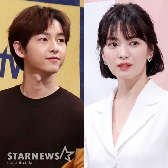 (왼쪽부터) 송중기, 송혜교 /사진=스타뉴스